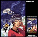 STAR TREK-TOS v2 - COVER by DreamworldStudio