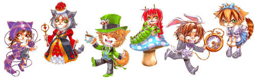 MCL - Loki in Wonderland by DreamworldStudio