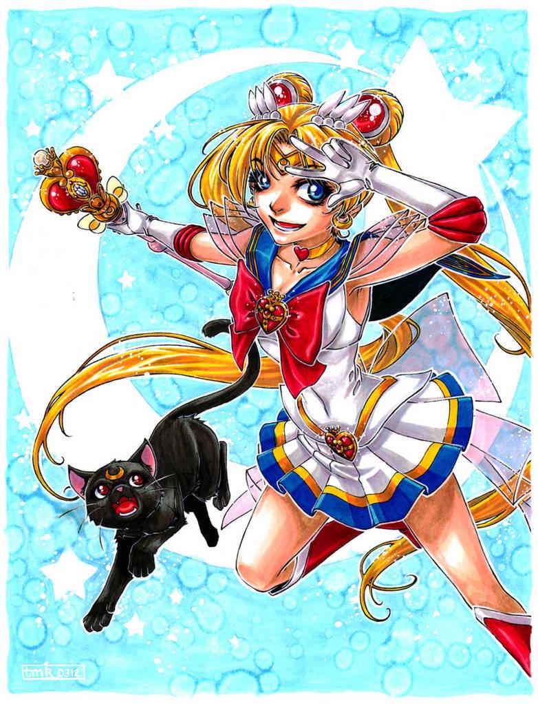 Pretty Soldier Sailor Moon by DreamworldStudio
