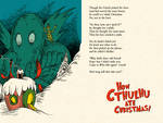 How Cthulhu Ate Christmas by DrFaustusAU