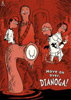 Move on over, Dianoga! by DrFaustusAU
