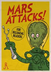 Mars Attacks! (for beginning readers) by DrFaustusAU