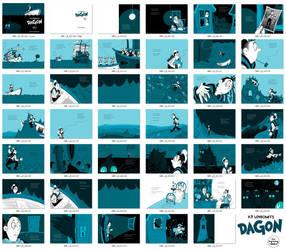 HPL's Dagon (for beginning readers) by DrFaustusAU