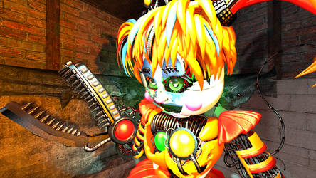 Practice with lighting - featuring Scrap Baby by Jpizza555