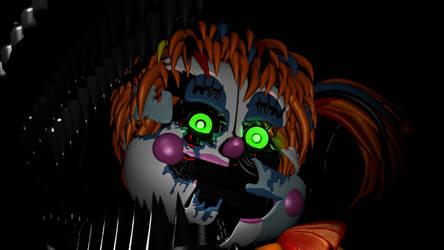 Creepy Scrap Baby render by Jpizza555