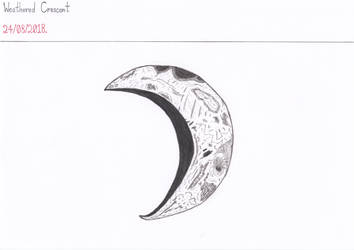 Weathered Crescent by Naean