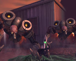 X-Com Enemies - Floater by Dragonlord965