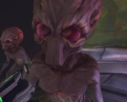 X-Com Enemies - Sectoid Commander by Dragonlord965