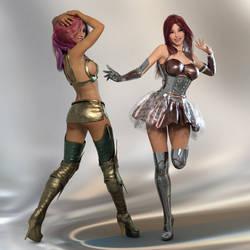 Sci Fi Girls by SlimMckenzie