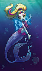 MH: Great Scarrier Reef Box Art - Lagoona Blue by peach-mork