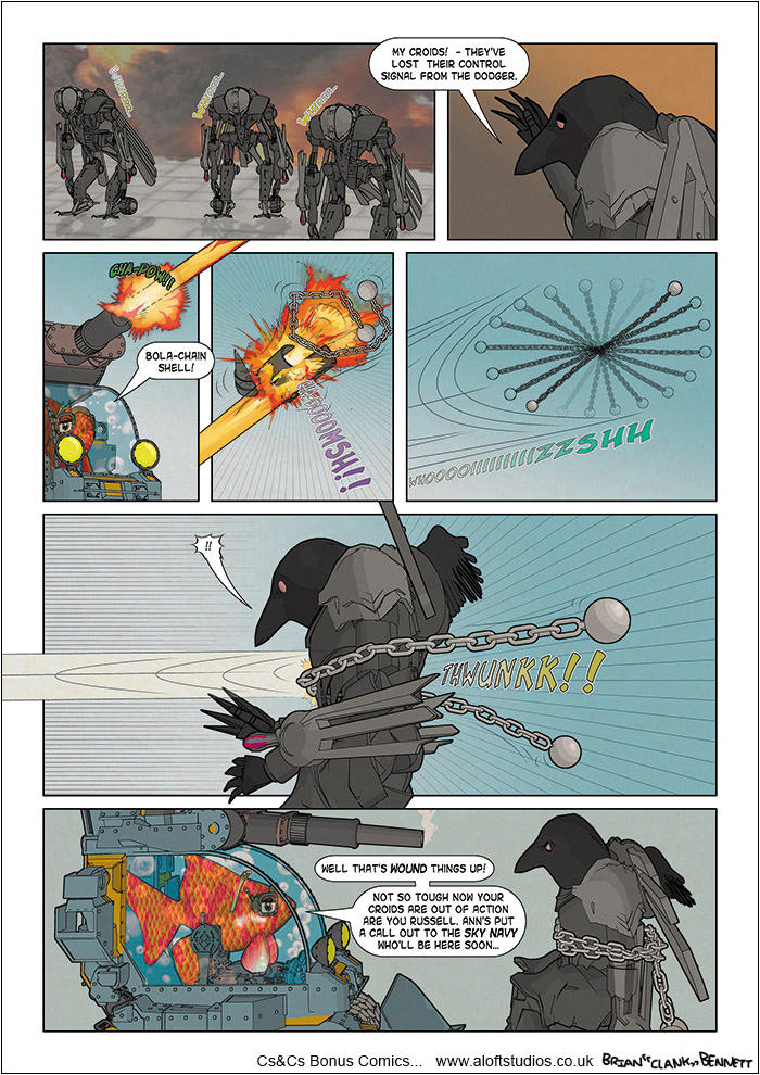 CnC WebComic FT148 by BrianClankBennett