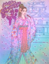 Geisha by samabbasi