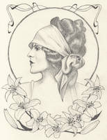 Art Nouveau Inspired Vintage by Jblovinp