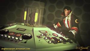 Dr Who 1963 Tardis Flight by DrGenocideSFM