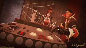 Dr Who Rani Tardis Flight by DrGenocideSFM