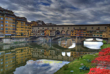 Ponte Vecchio - Firenze by sergioviana