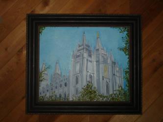 Salt Lake Temple by thirteenth-phoenix