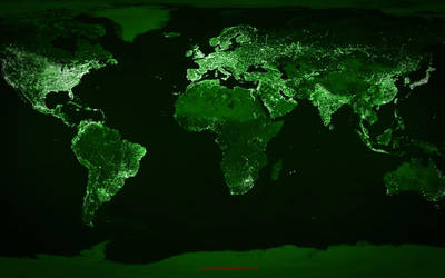 Earth Lights by hamsher