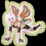 Lygodium Spider Moth woman by Mrromeijn