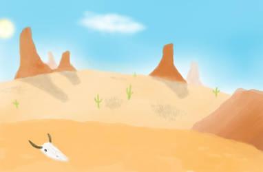 Desert Scene by BS4711