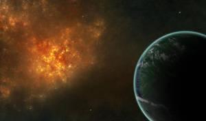 Fire Nebula by BS4711