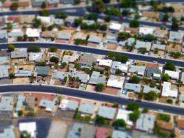 Tilt Shift 7 Houses by BS4711