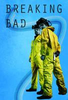 Vintage Breaking Bad Poster by BS4711