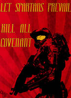 Communist Halo Poster by BS4711