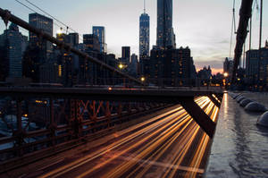 Brooklyn Bridge Long Exposure by BS4711
