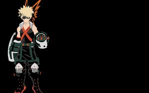 Katsuki Bakugou - Boku no Hero Academia by Dingier