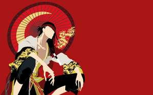 Nnoitra Gilga - Bleach (Japanese Parasol) by Dingier