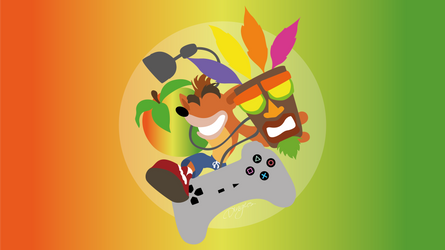 Crash Bandicoot by Dingier
