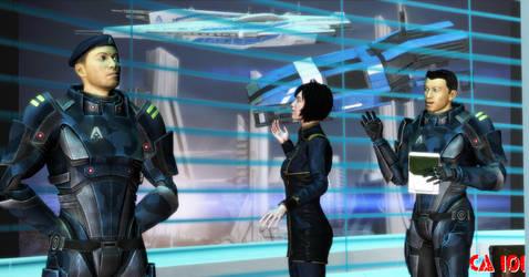 Commander Shepard President of Earth. by CharonA101