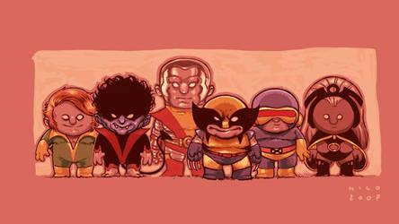 X-Men by ElectroNic0