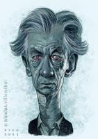 Sir Ian McKellen by ElectroNic0