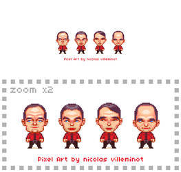 Kraftwerk :: Pixel Art by ElectroNic0