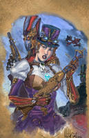 Steampunk Sketchbook by Dhutchison