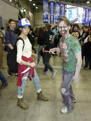 the walking dead s3 clementine by maryydixon