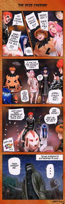 The best costume - 4koma by SatokoChaaan