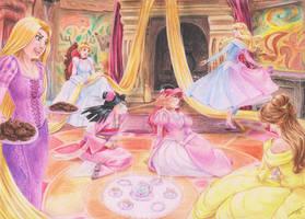 *:.Tea Party.:* by SatokoChaaan
