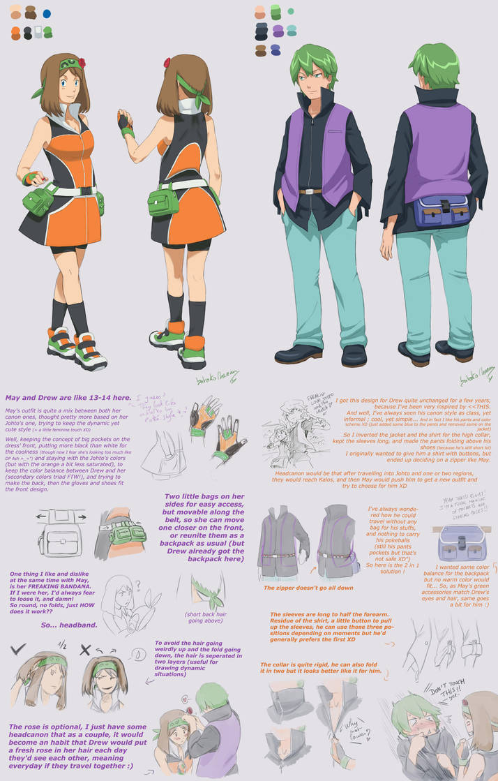 Contestshipping Outfits Designs By Satokochaaan On Deviantart