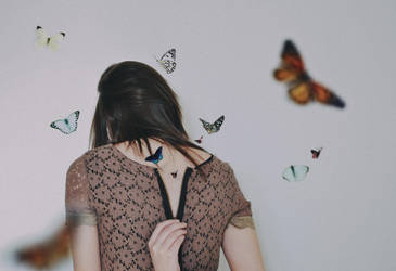 I opened my soul and butterflies came out by EugenieA