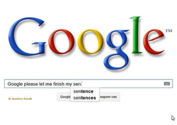 Almighty Google (screenshot) by JasminaSusak