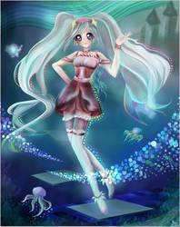 Cure Glory by Yukiyukiko