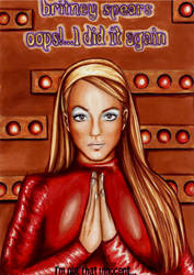 Britney in Oops I Did It Again by marvin102019