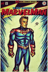Marvelman - Cover by drwcomics