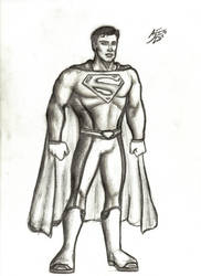 Smallville Superman by drwcomics
