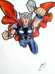 Aaron Thor by drwcomics