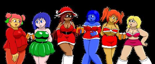 Sixth Day: Six Short Ladies by DarkStorm2Bad