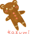 Gingerbread Bear by zara-leventhal